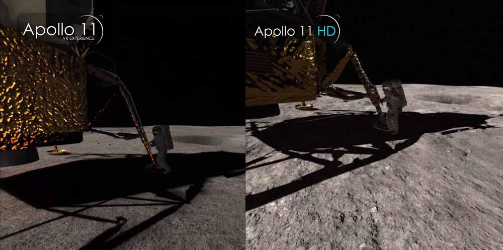 Als Apollo 11 im April 2016 auf den Markt kam, war es ein Vorzeigeprojekt für Virtual-Reality-Bildung. Jetzt wird die VR-Erfahrung mit besserer Grafik aufpoliert.