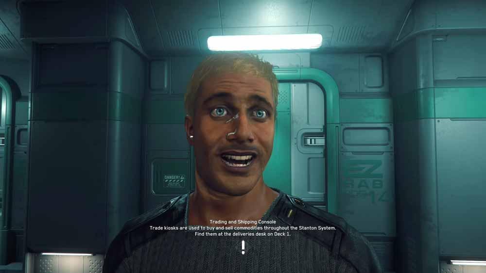 """Monitorspiel """"Star Citizen"""" animiert Avatare mit Gesichtstracking"""