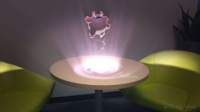 Magic Leap versuchte unter anderem mit AR-Games von bekannten Spieleherstellern bei Endverbrauchern Aufmerksamkeit für Magic Leap One zu generieren - bislang ohne Erfolg. Bild: Insomniac Games