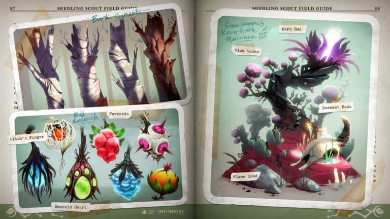In Seedling züchtet man einen Alien-Garten. Bild: Insomniac Games