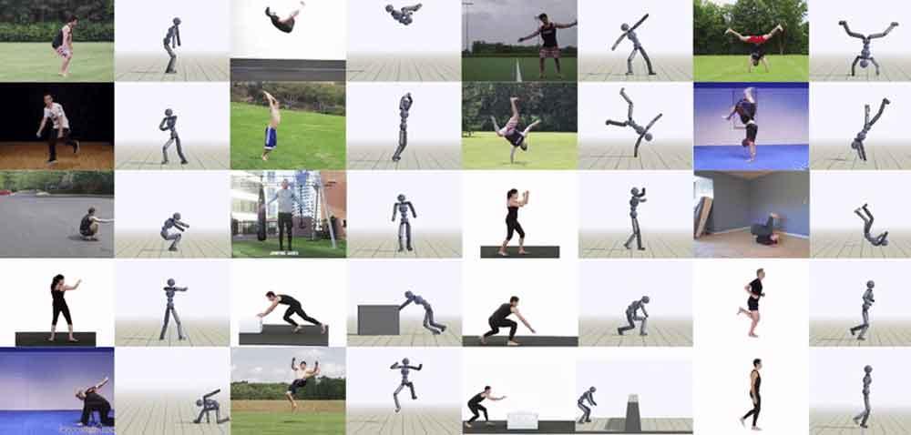 Die grazilen Gangnam-Style-Bewegungen überfordern die Bilderkennung der KI zwar noch. Dafür funktionieren andere akrobatische Bewegungen beeindruckend gut.