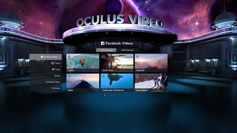 Oculus' virtuelle Videothek für Oculus Rift wird eingestellt. Die Nachfrage war zu gering.