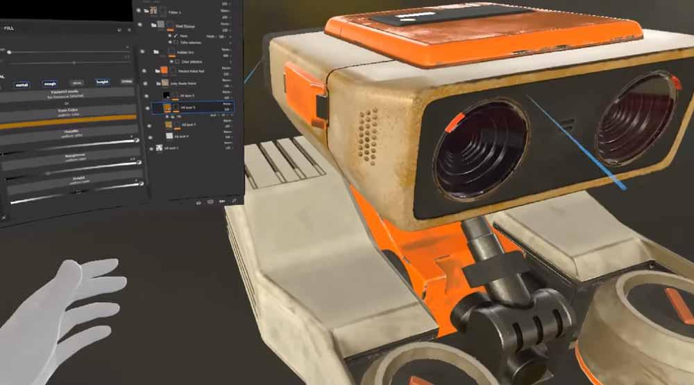 Mit Hybrid-Apps will Oculus die Stärken von 2D-Benutzeroberflächen mit der VR-Darstellung kombinieren. Software-Unternehmen könnten ihr Monitor-Programm so leichter mit einem VR-Modus erweitern.