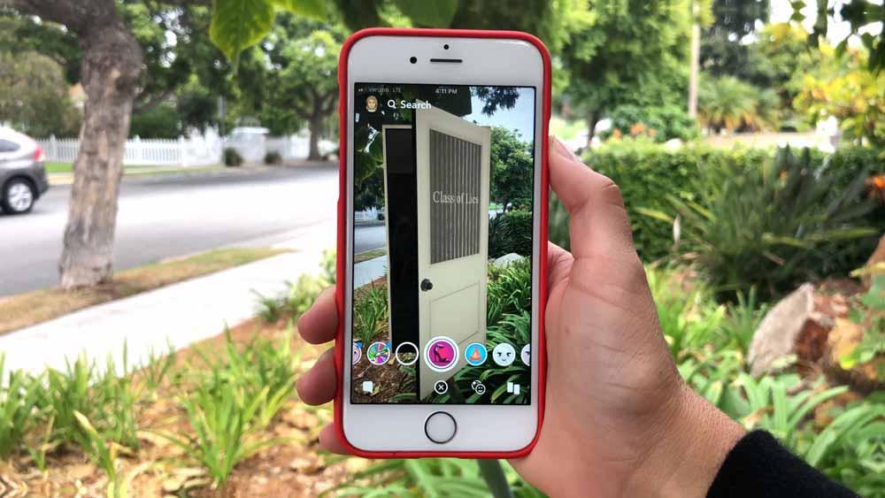 Snap versucht herauszufinden, was nach Video kommt. Vielleicht ja eine interaktive Smartphone-Serie mit Augmented-Reality-Erweiterung.