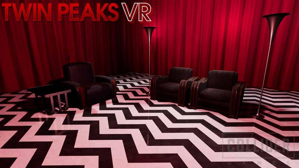 Der VR-Brillenträger muss wie Cooper in der Serie dem roten Raum entkommen. Bild: Collider Games
