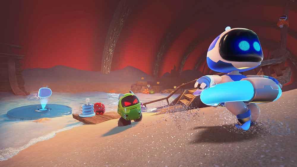 Astro Bot für Playstation VR: Hinter den Kulissen der Entwicklung