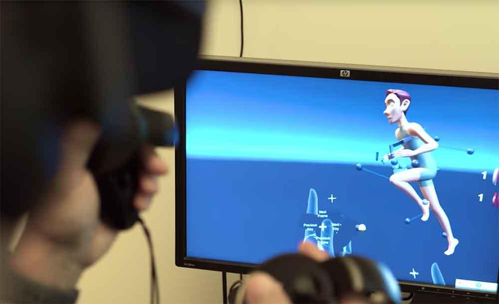 Disney-Künstler animieren Filme in der Virtual Reality