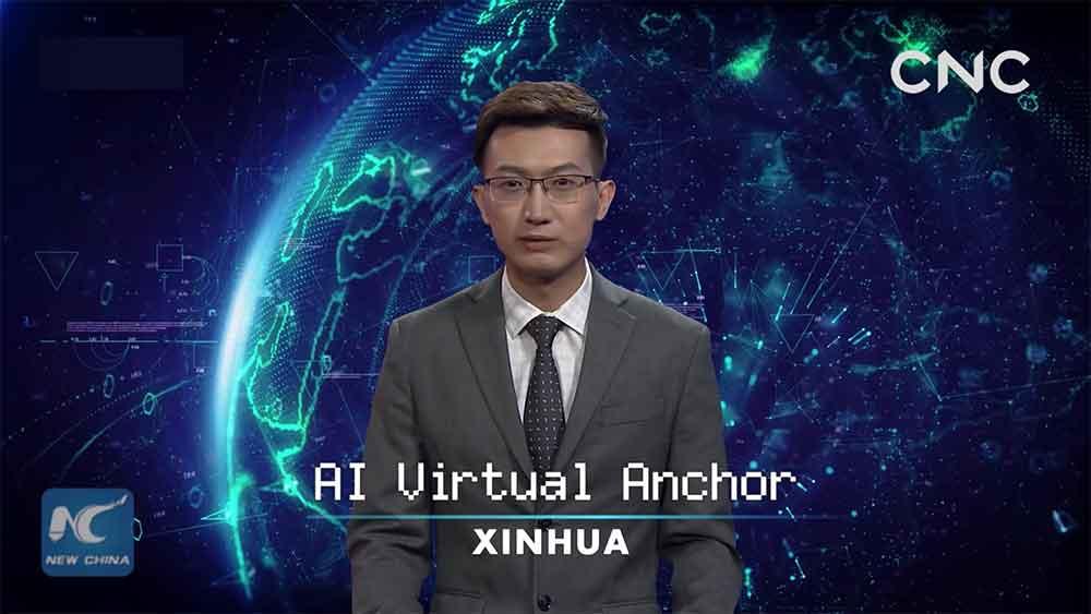 In China werden ab sofort KI-Nachrichtensprecher eingesetzt. Ihr Vorteil: Sie sind billig und können ununterbrochen Nachrichten vorlesen.