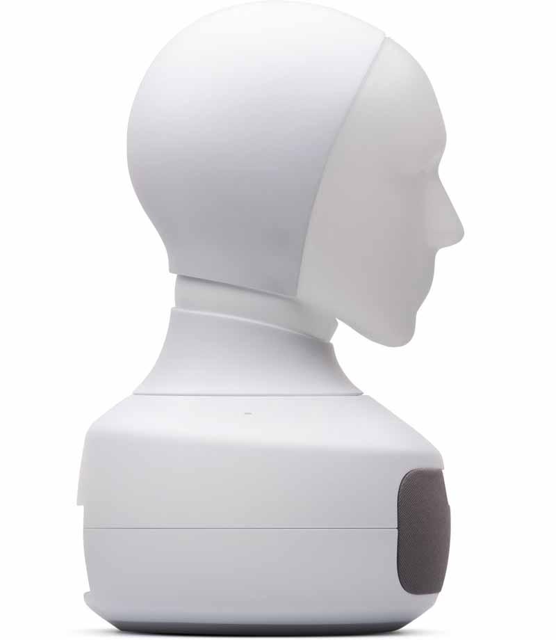 Ein Furhat im Ausgangszustand. Bild: Furhat Robotics