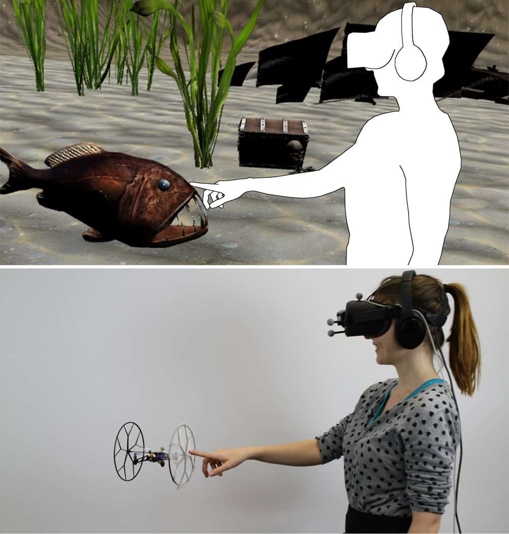 | hatpic drone vr touch virtual reality