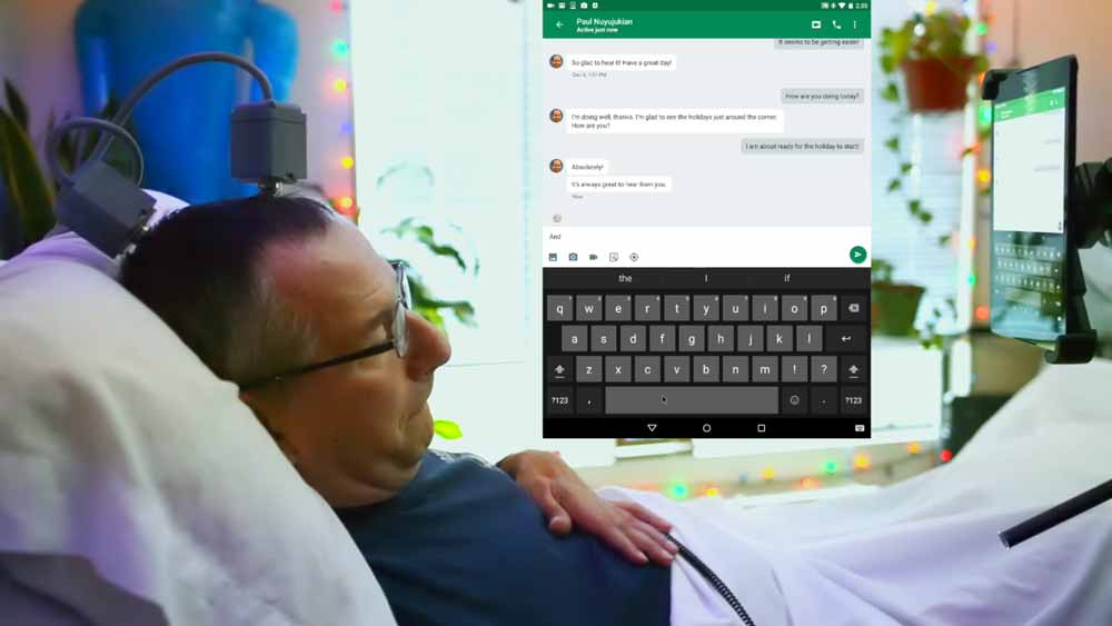 Die Hirnschnittstelle Braingate ist schon seit rund 16 Jahren in Entwicklung. Mit einer aktuellen Version kann ein herkömmliches Android-Tablet ferngesteuert werden.