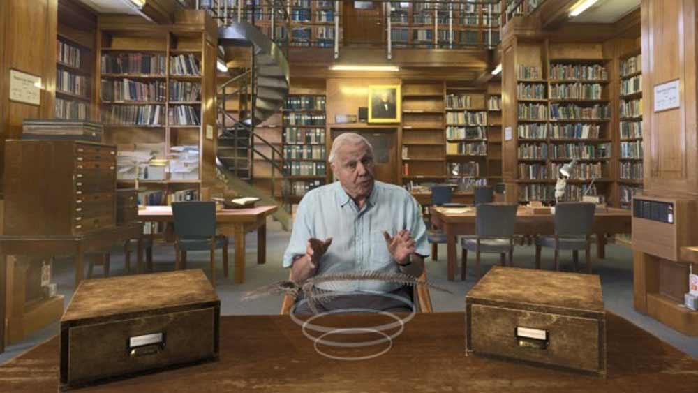 Das Londoner Natural History Museum und der Pay-TV-Sender Sky veröffentlichen eine VR-App für Oculus Rift, die den britischenDokumentarfilmer Sir David Attenborough so realistisch darstellt, als säße man ihm gegenüber.