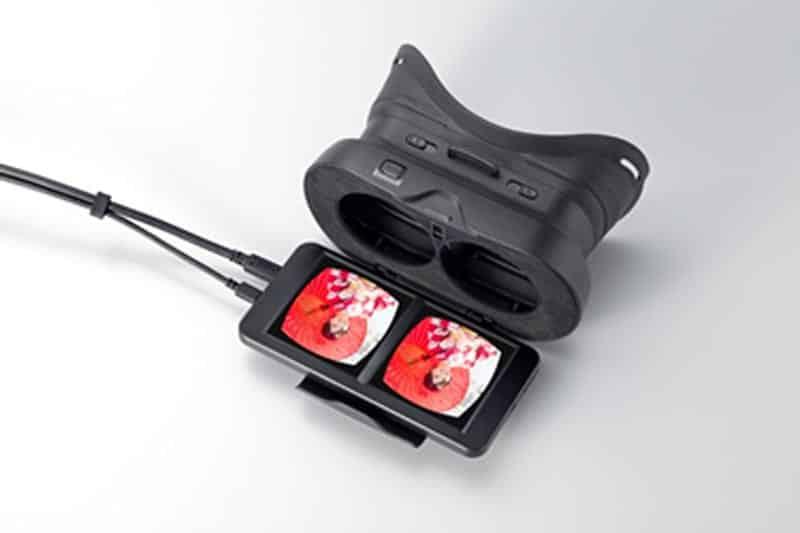 Wahrscheinlich zu Werbezwecken will Japan Display (JDI) die Kopfdreh-VR-Brille VRM-100 an japanische Unternehmen verkaufen.