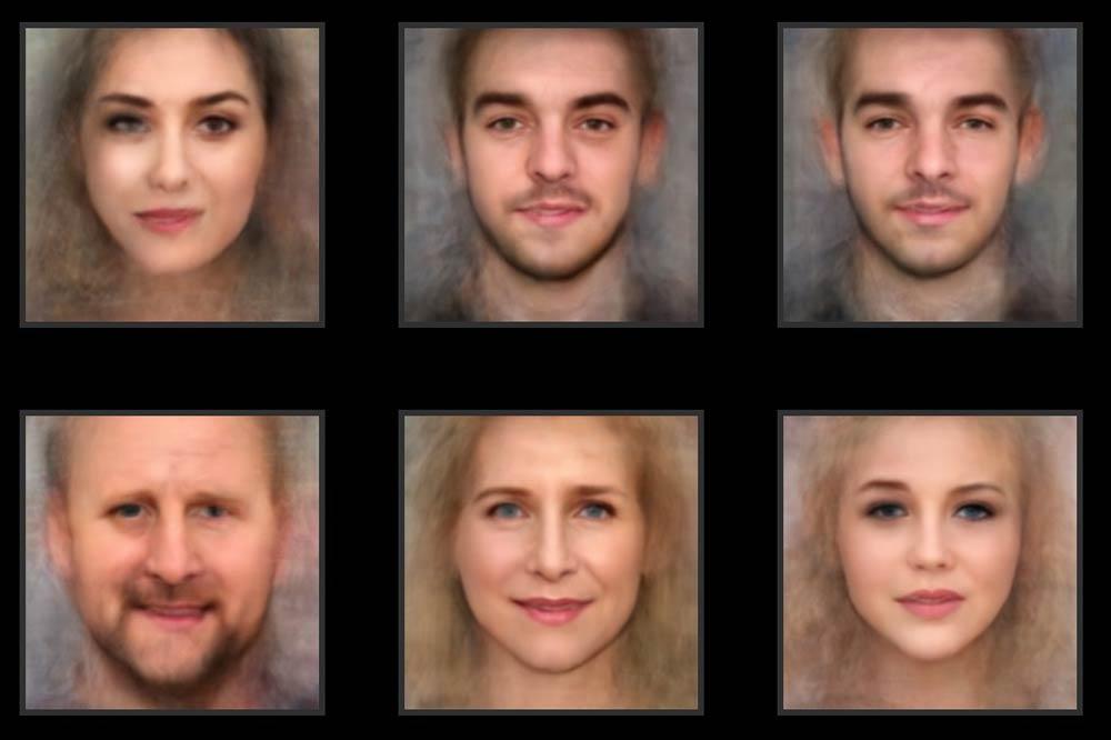 Eine Künstliche Intelligenz malt euch anhand eines Porträtfotos als Schauspielerin oder Schauspieler.