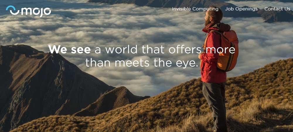 | mojo vision webseite