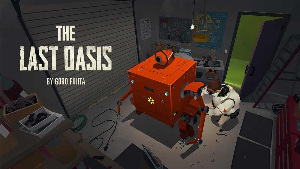 """Das Roomscale-Kunstwerk """"The Last Oasis"""" wurde speziell für Oculus Quest entworfen."""