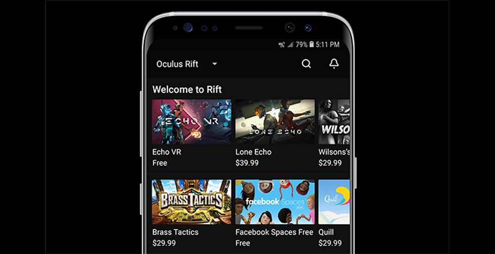 Oculus Rift Smartphone App Unterstützt Jetzt Geplante Downloads