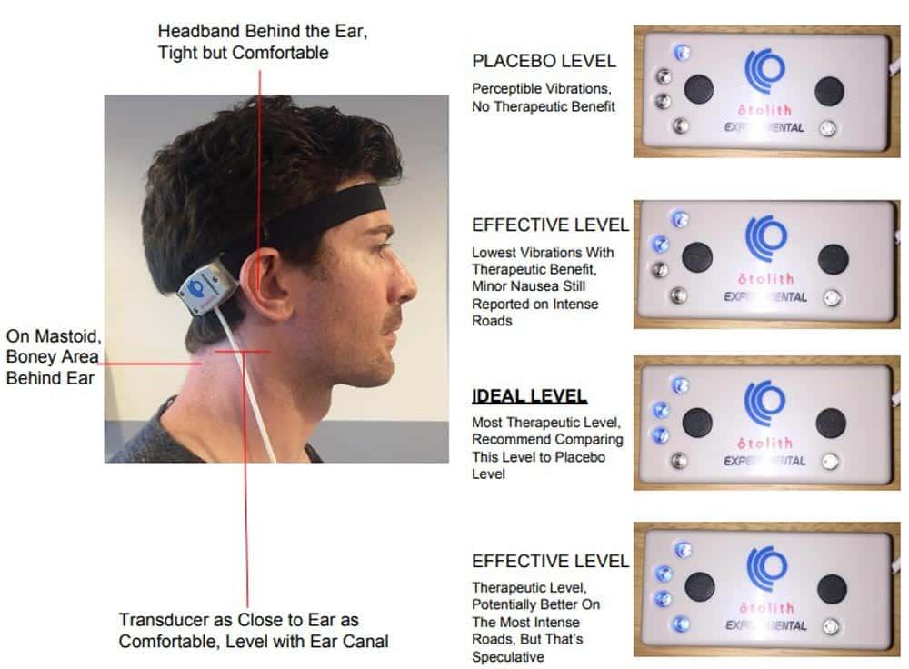 Das Gerät vibriert in unterschiedlichen Intensitätsstufen, je nach Anwendungsszenario. Bild: Ototech