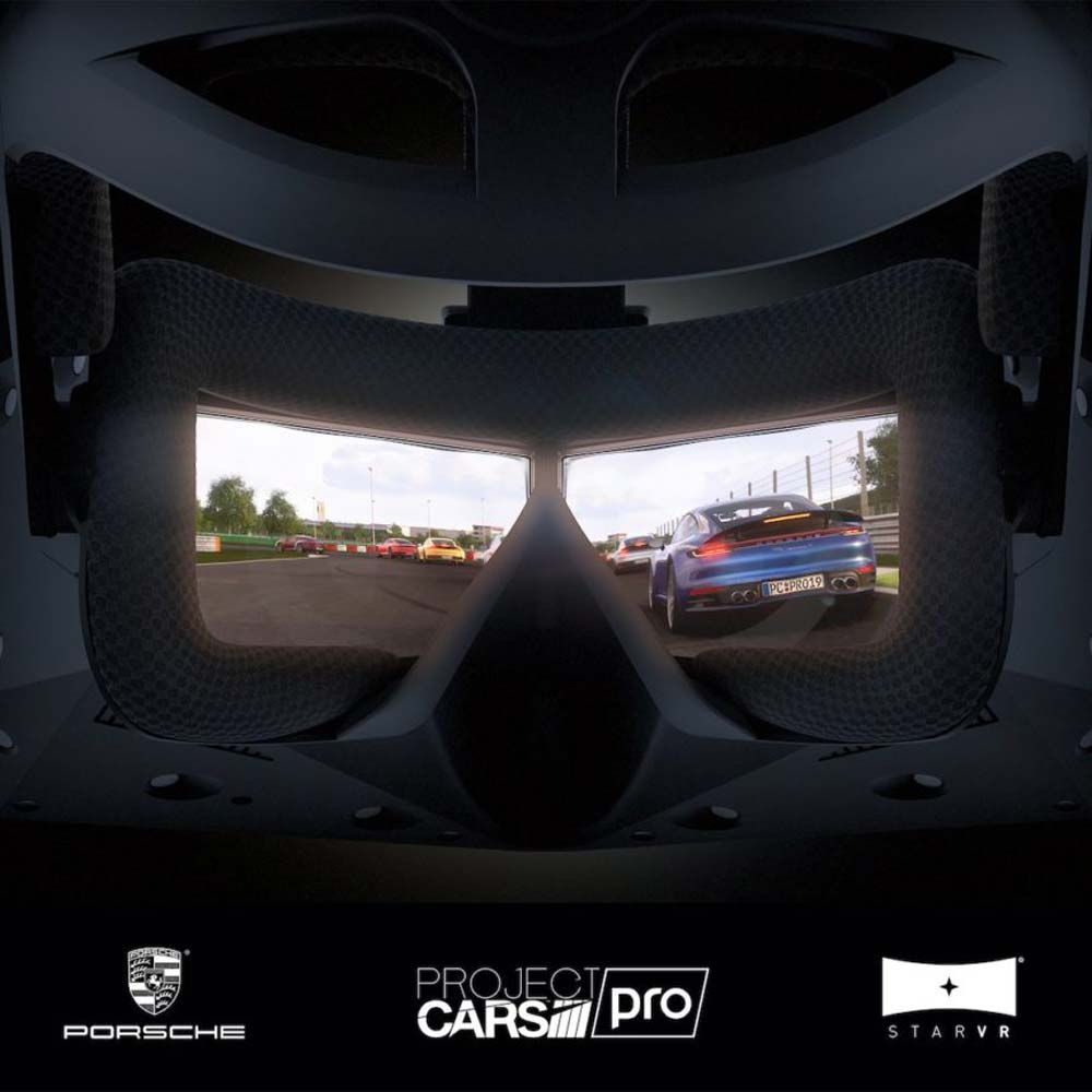 Porsche ist Virtual Reality mit StarVR gut genug für eine virtuelle Testfahrt mit dem 911 Carrera S.