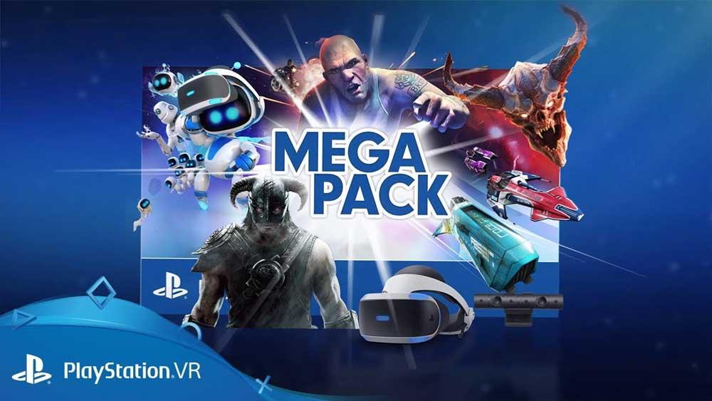 Sony steigt mit dem Playstation VR Mega Pack groß ins Virtual-Reality-Weihnachtsgeschäft ein.