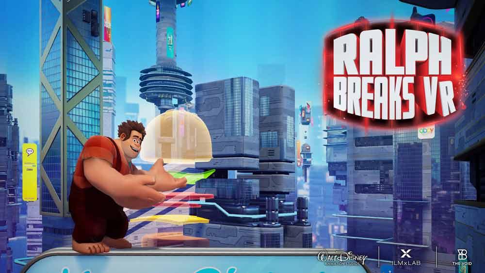 Wreck-It Ralph schafft dank The Void den Sprung in die Virtual Reality.