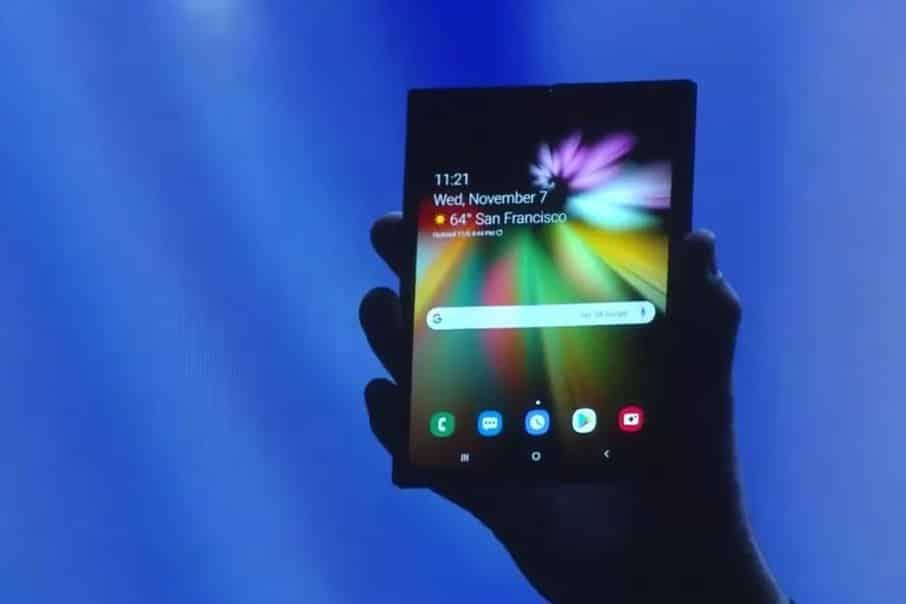 Infinity Flex Display: Samsung verrät Spezifikationen des Falt-Screens
