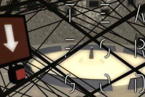 """Die VR-Welt von """"Tea for God"""" wirkt auf den ersten Blick wie in jedem anderen VR-Ballerspiel. Doch die Fortbewegung ist besonders."""