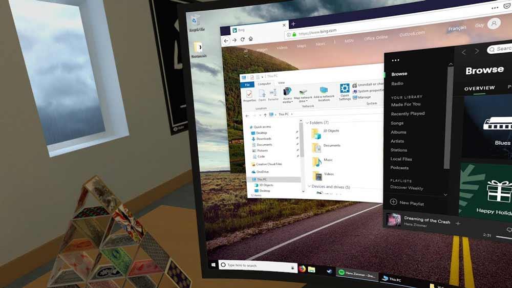 Virtual Desktop schafft den Sprung vom PC auf die mobile VR-Brille Oculus Go.