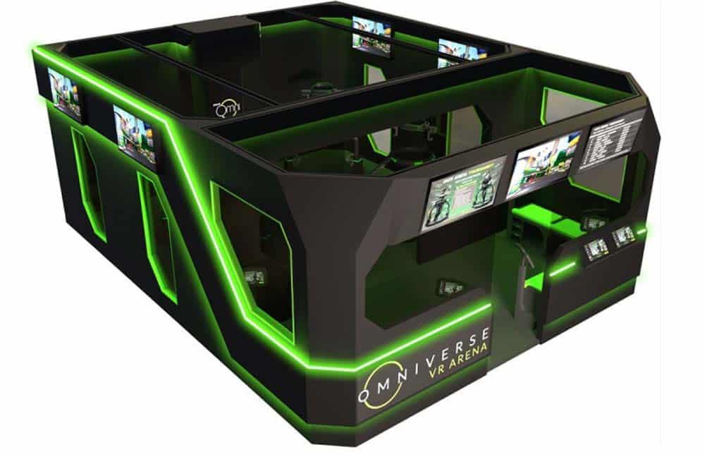 Die VR Arena soll Spielhallenbetreibern den Einstieg in eSports erleichtern. Bild: Virtuix