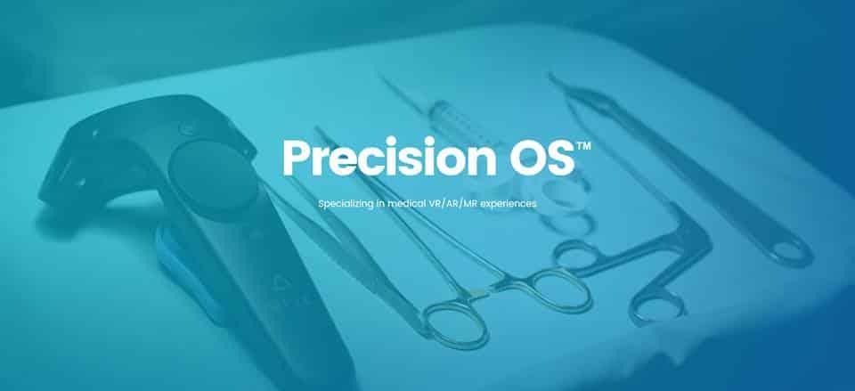 Das Startup Precision OS will Chirurgen in der Virtual Reality lernen und planen lassen.