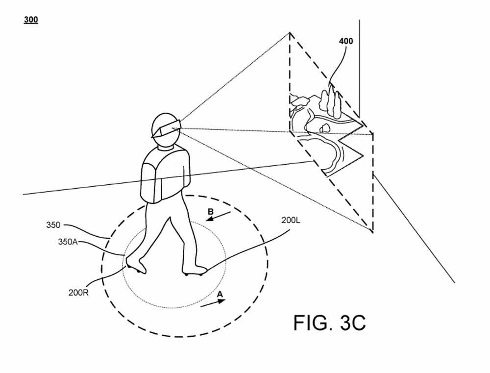 """Wahrscheinlich ist es ein typisches Patent aus der Kategorie """"man weiß ja nie"""":Google patentiert Laufschuhe für VR-Anwendungen."""