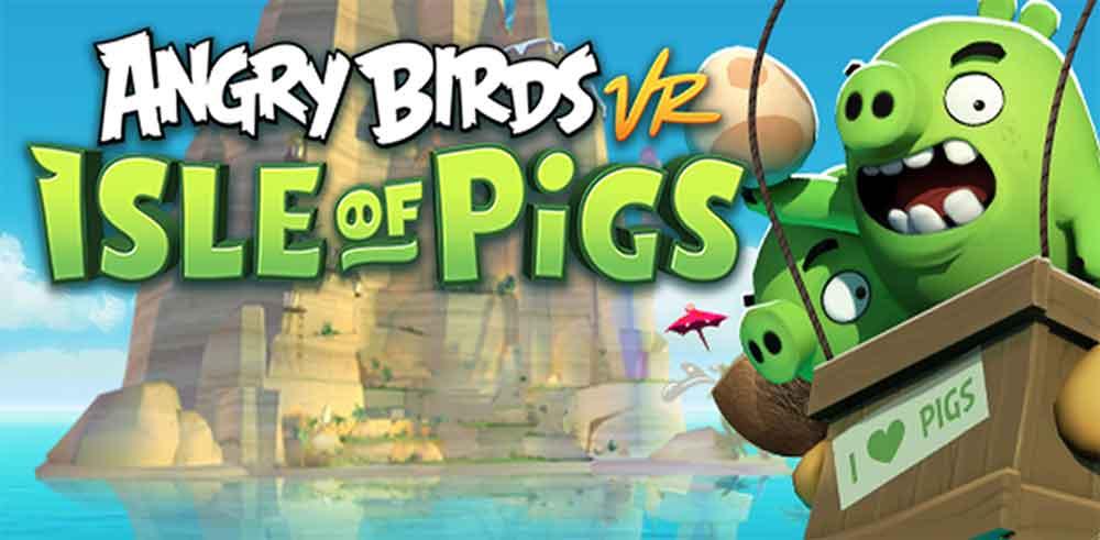 Nachdem im Herbst eine AR-Version des Spiels erschienen ist, schafft Angry Birds nächstes Jahr den Sprung auf alle großen VR-Plattformen.