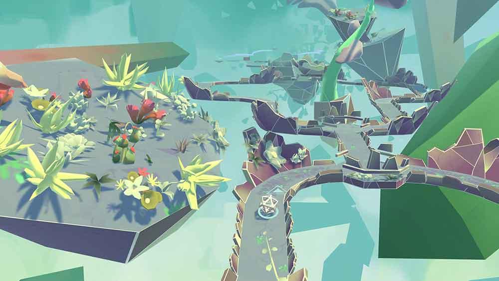 In Arca's Path VR steuert man eine Kugel mit seinem Blick durch 25 Labyrinthe. Klingt öde? Ist es leider auch.