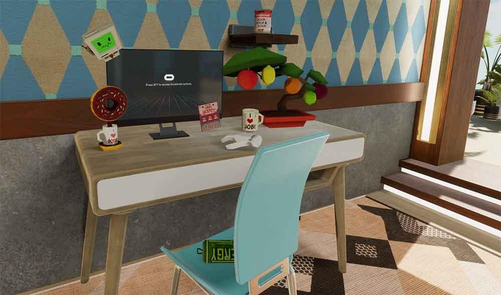 Wer in Spielen Achievements absolviert, kann eigens gestaltete 3D-Objekte freischaltenund damit sein virtuelles Zuhause dekorieren.