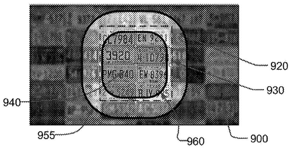 Auch Oculus hält ein Patent für ein gespiegeltes Doppeldisplay mit hoher Auflösung im Zentrum und geringerer Auflösung in der Peripherie.