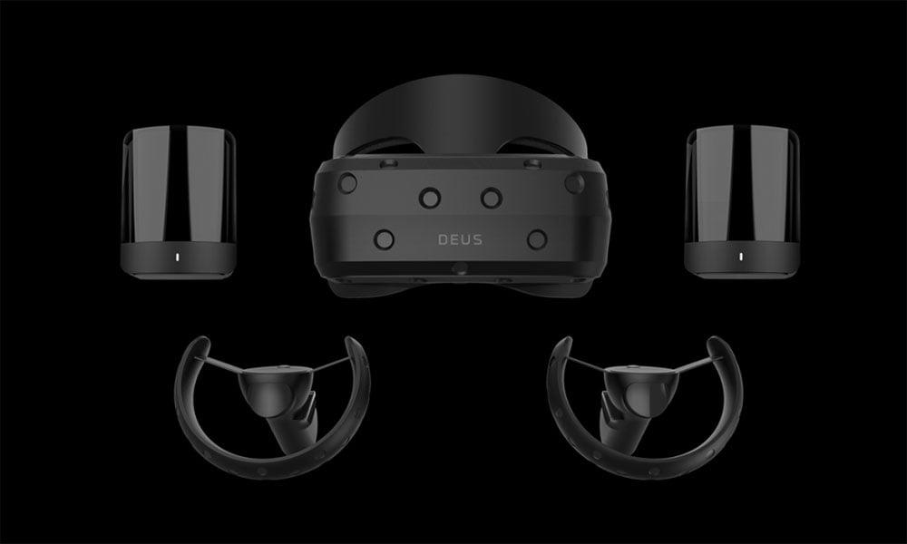 """Das russische Startup Deus wird auf der CES eine SteamVR-kompatible VR-Brille mit dem Namen """"Odin"""" vorstellen."""