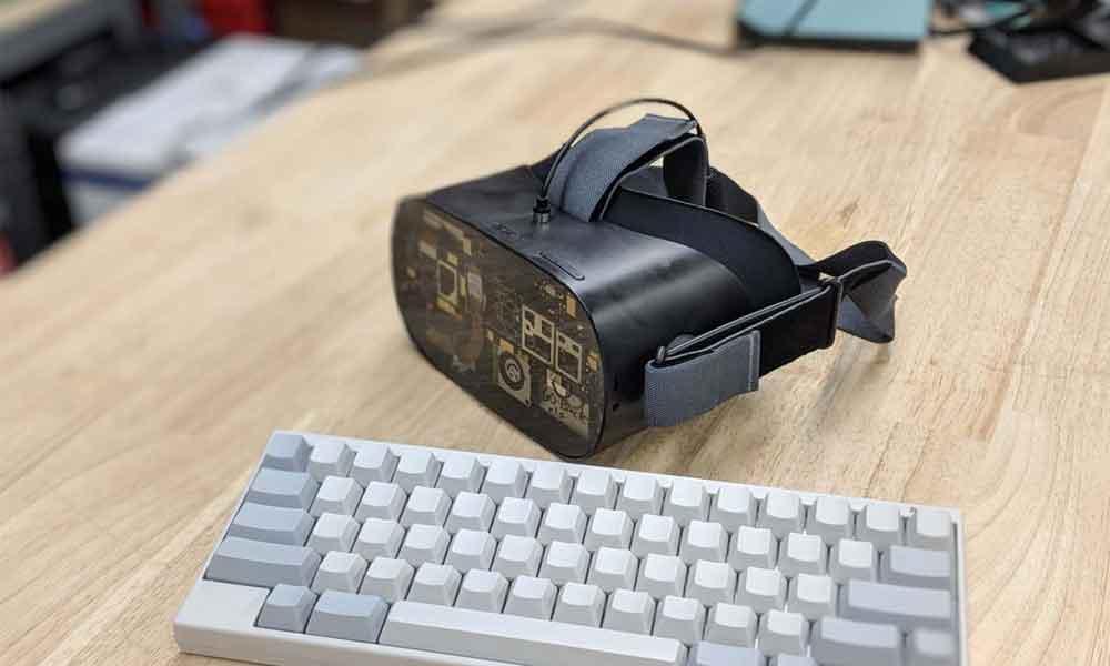 Oculus Go: Palmer Luckey zeigt seine gehackte VR-Brille