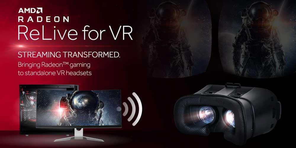 AMD-Grafikkarten können SteamVR-Inhalte an mobile VR-Brillen streamen