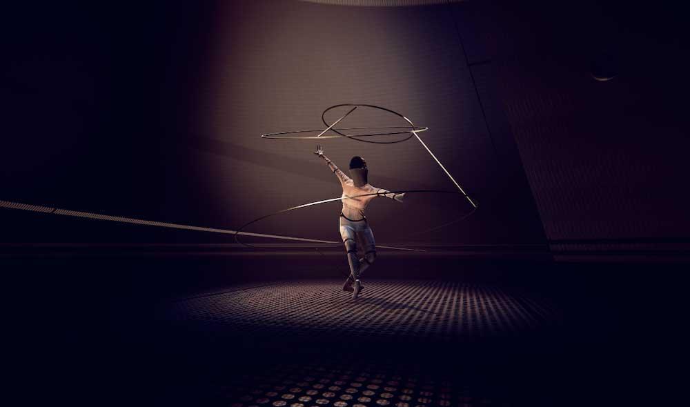 Zum hundertjährigen Bestehen der Bauhaus-Bewegung wird in der Akademie der Künste in Berlin eine raumgreifende VR-Tanzerfahrung gezeigt.