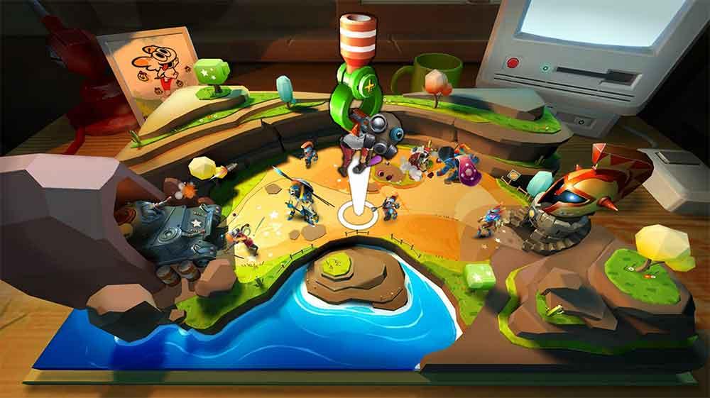 In Toy Clash und Gnog hantiert man mit Spielzeug. Die VR-Titel spielen sich recht unterschiedlich, aber gehören zum Besten, was Oculus Go zu bieten hat.