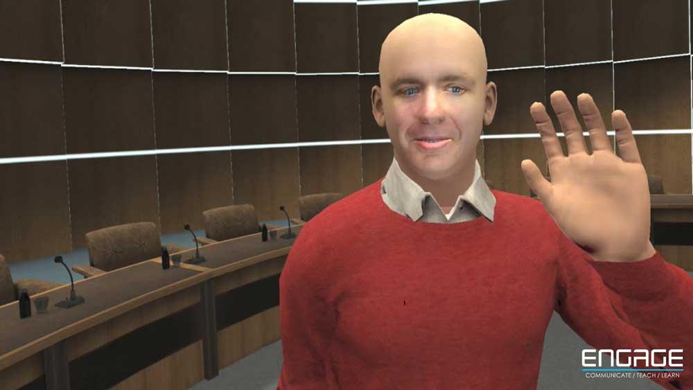 Engage von VR Education soll das interaktive 360-Grad-Powerpoint fürs VR-Lernen werden.