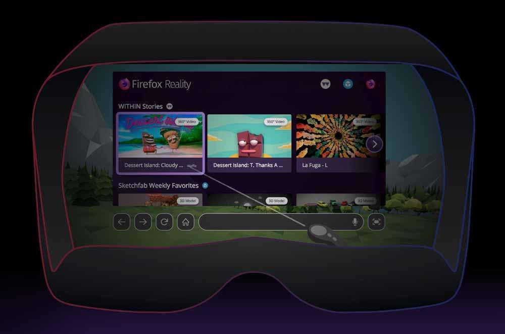 Firefox Reality: XR-Browser kommt für Magic Leap, VR-Update