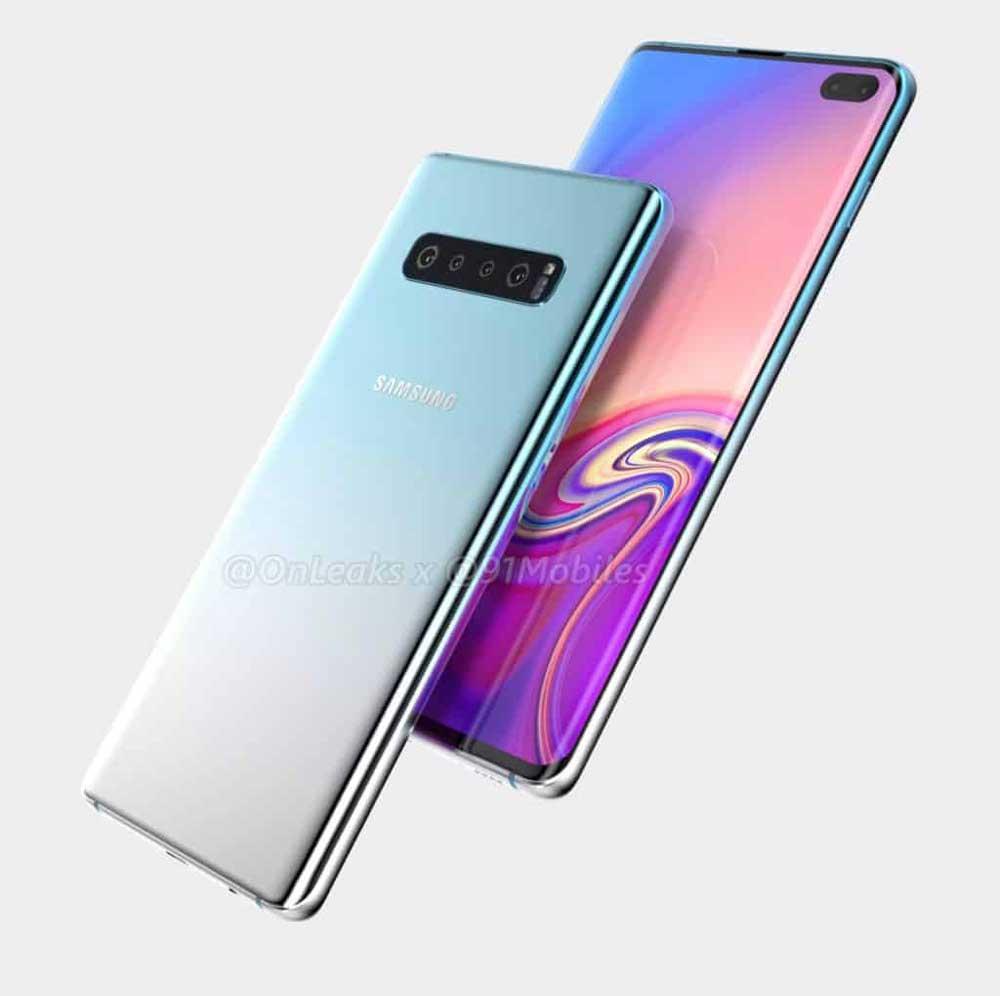 """Sechs Kameras, 5G und womöglich ein Tiefensensor: Samsungs Superflaggschiff Galaxy S10 """"Beyond X"""" wird immer konkreter."""