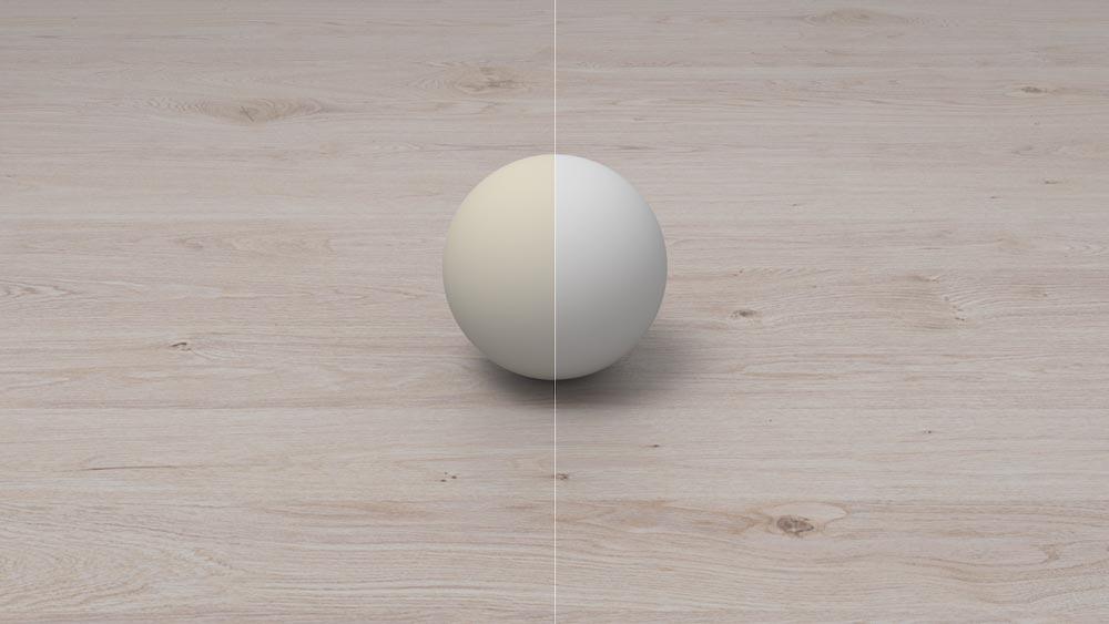 Digitale Figuren und Objekte sollen mit ARCore 1.6 glaubhafter von realen Lichtquellen ausgeleuchtet werden. Bild: Google
