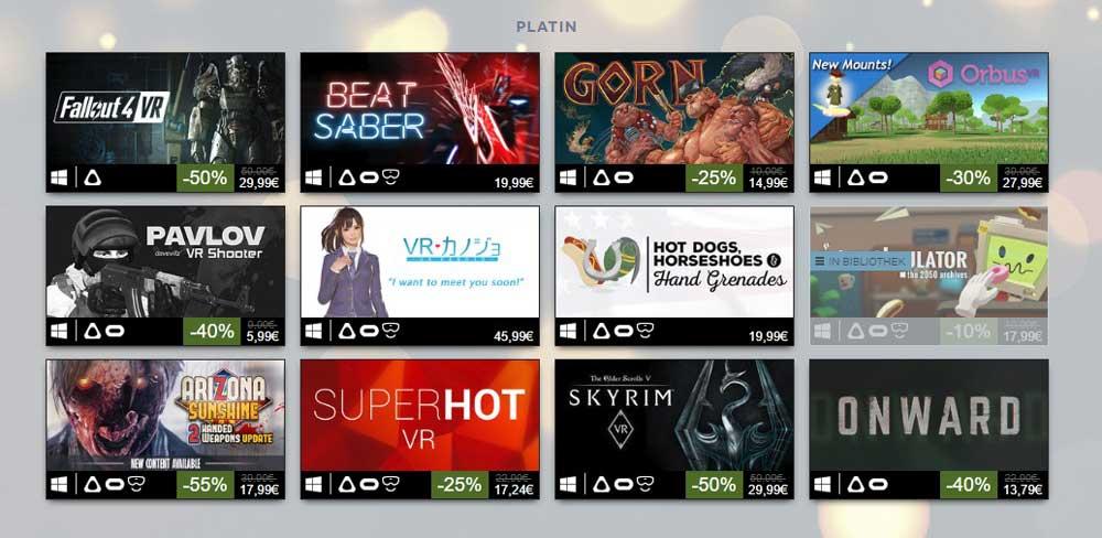 Erfolgreich ist, was Geld verdient: Zum dritten Mal veröffentlicht Valve eine Liste der umsatzstärksten VR-Spiele in einem Jahr.