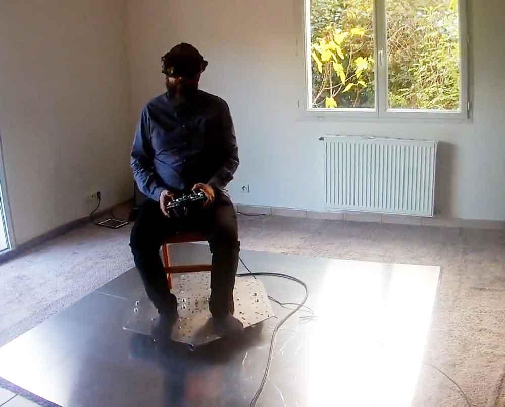 Auf der Suche nach dem Heilmittel für VR-Übelkeit entstehen interessante Erfindungen.