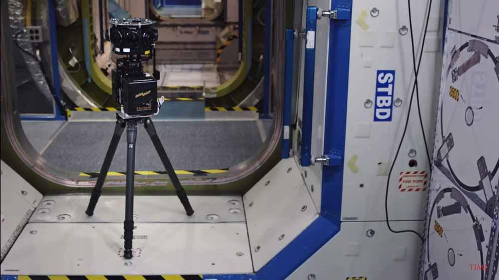 An Bord der ISS: Studio schießt 360-Kameras ins All für neue VR-Serie