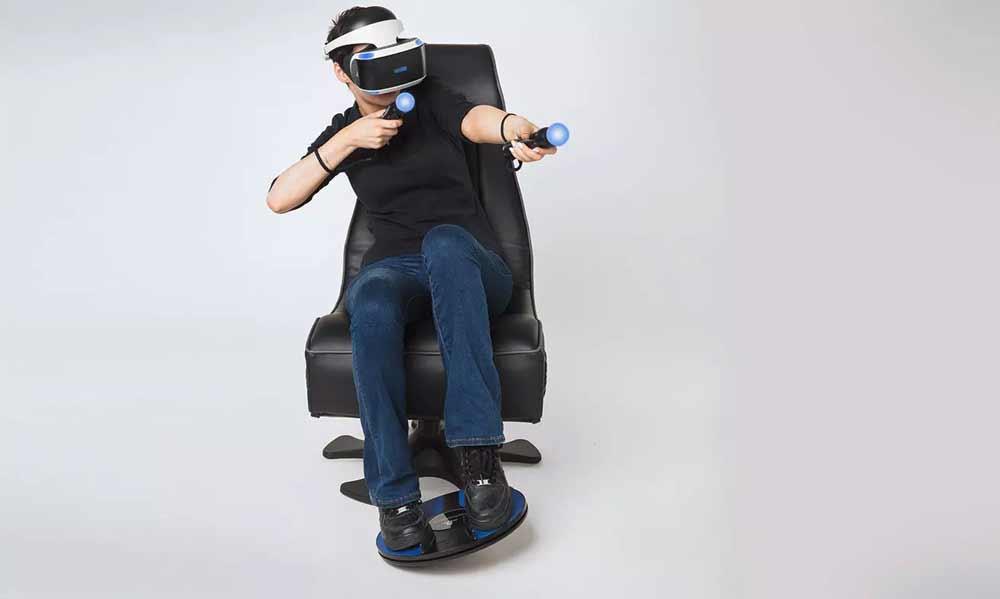 Das französische Unternehmen 3DRudder bietet seinen ungewöhnlichen Laufcontroller ab April 2019 für Playstation VR an.