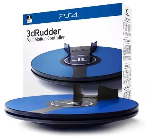 3DRudder schafft den Sprung zum Sony-zertifizierten VR-Zubehör. Bild: 3DRudder