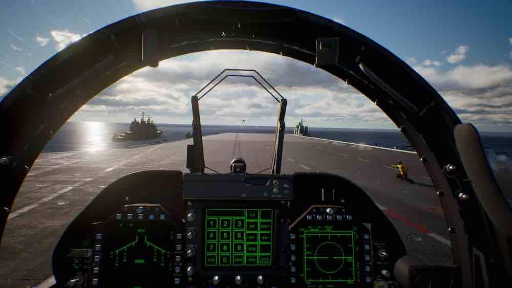 Das Flugspiel Ace Combat 7: Skies Unknown bietet VR-exklusive Missionen. Ich habe mir eine Playstation VR aufgesetzt und sie ausprobiert.